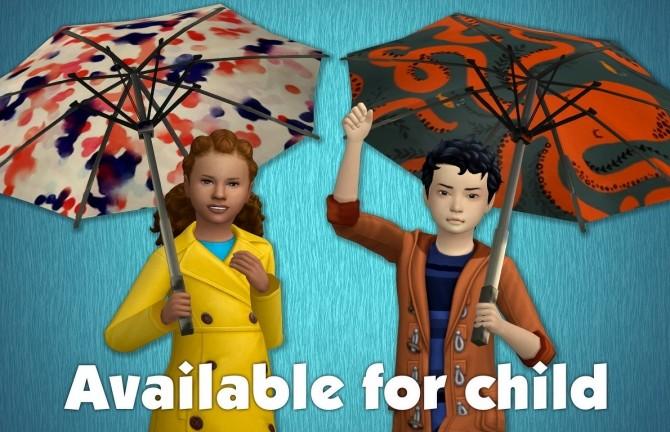 Functional Umbrella Recolors at Tukete image 9512 670x432 Sims 4 Updates