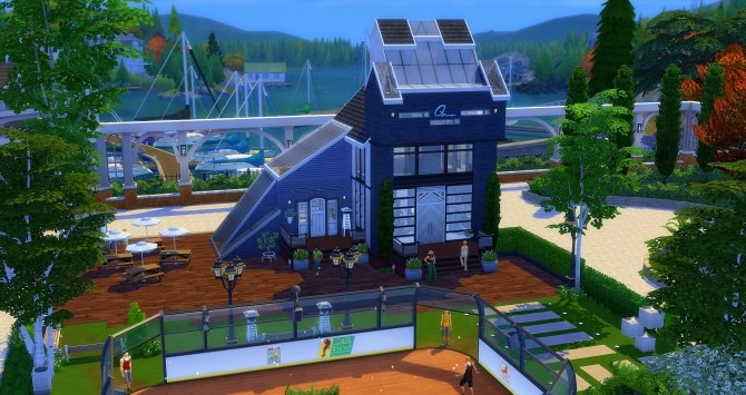 Sporting Club Brindleton at Studio Sims Creation image 955 670x355 Sims 4 Updates