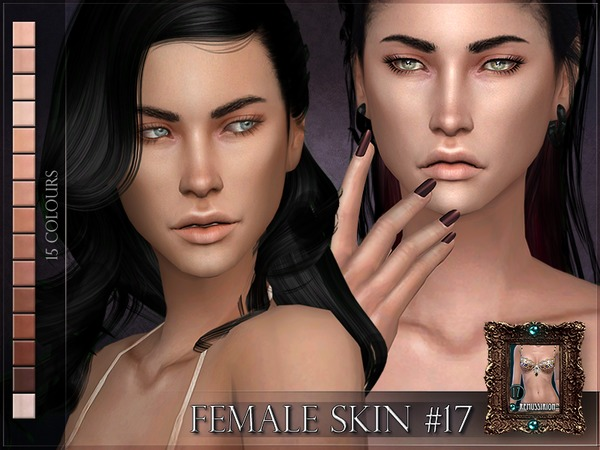 Sims 4 Female Skin 17 by RemusSirion at TSR