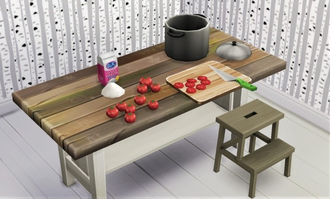 BG table 6 recolors at Budgie2budgie image 981 670x405 Sims 4 Updates