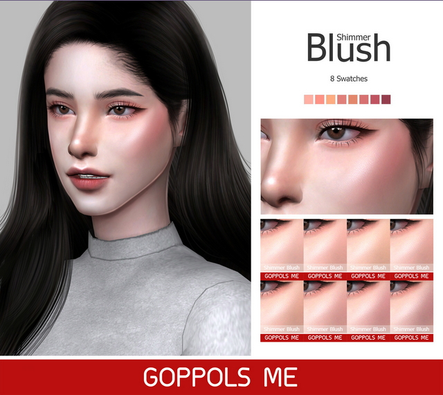 GPME Shimmer Blush at GOPPOLS Me image 982 Sims 4 Updates
