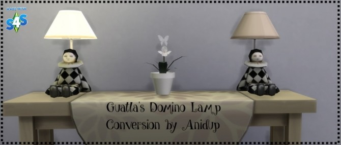 Guatlas Domino Lamp by anidup at Blooming Rosy image 1001 670x286 Sims 4 Updates