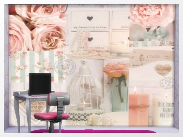 Wallpaper/WallDecal 4 tiles full recolor by Oldbox at All 4 Sims image 1004 Sims 4 Updates