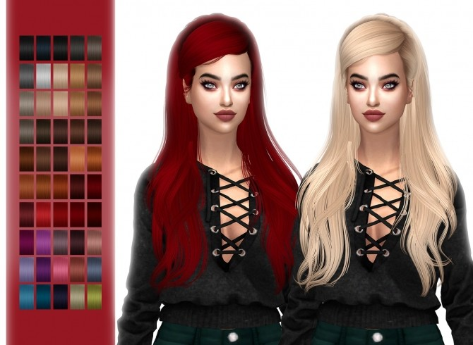 Sims 4 HallowSims Newsea Monochrome at FROST SIMS 4