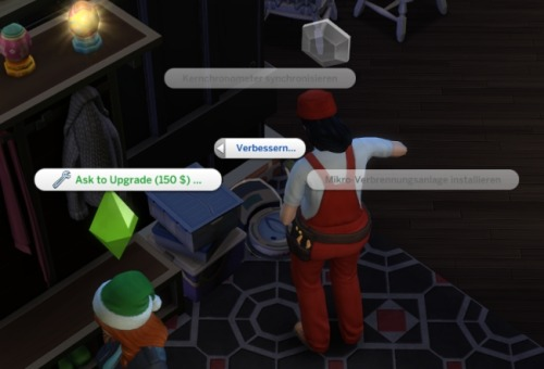 Ask NPCs to Upgrade Objects at LittleMsSam image 1015 Sims 4 Updates