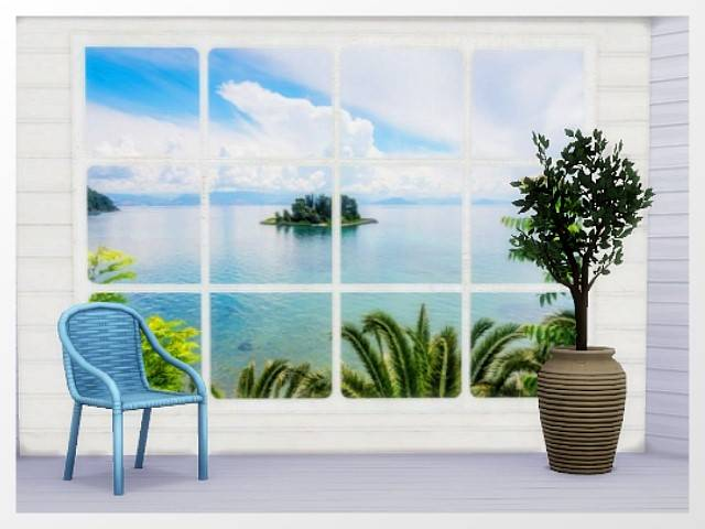 Wallpaper/WallDecal 4 tiles full recolor by Oldbox at All 4 Sims image 1017 Sims 4 Updates