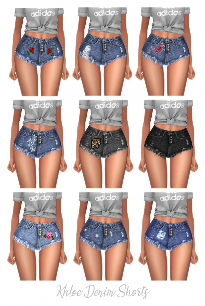 Khloe Denim shorts at FROST SIMS 4 image 10211 668x1000 Sims 4 Updates