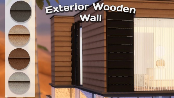 Exterior walls & mural nature at Simming With Mary image 1024 670x377 Sims 4 Updates