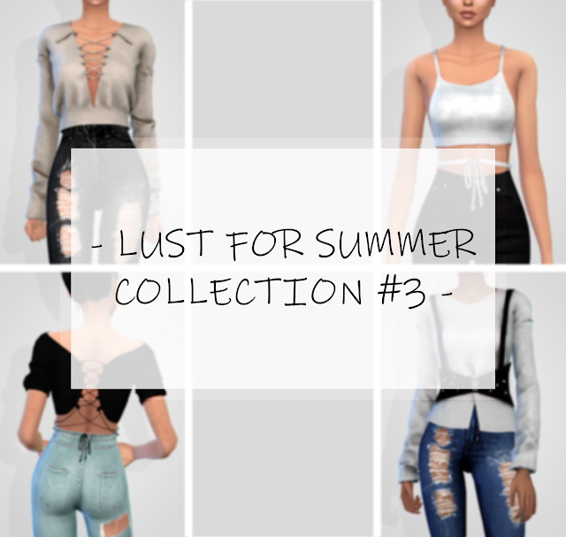 Sims 4 LUST FOR SUMMER COLLECTION #3 at Grafity cc