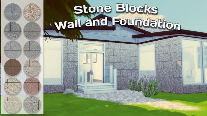 Stone Blocks Wall and Foundation at Simming With Mary image 1049 670x377 Sims 4 Updates