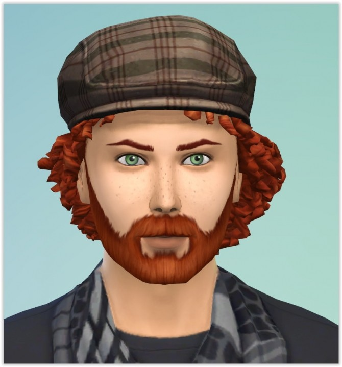 Sims 4 Mickael Dehors by Angerouge24 at Studio Sims Creation