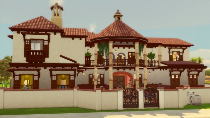 Mediterranean House at Simming With Mary image 1059 670x377 Sims 4 Updates