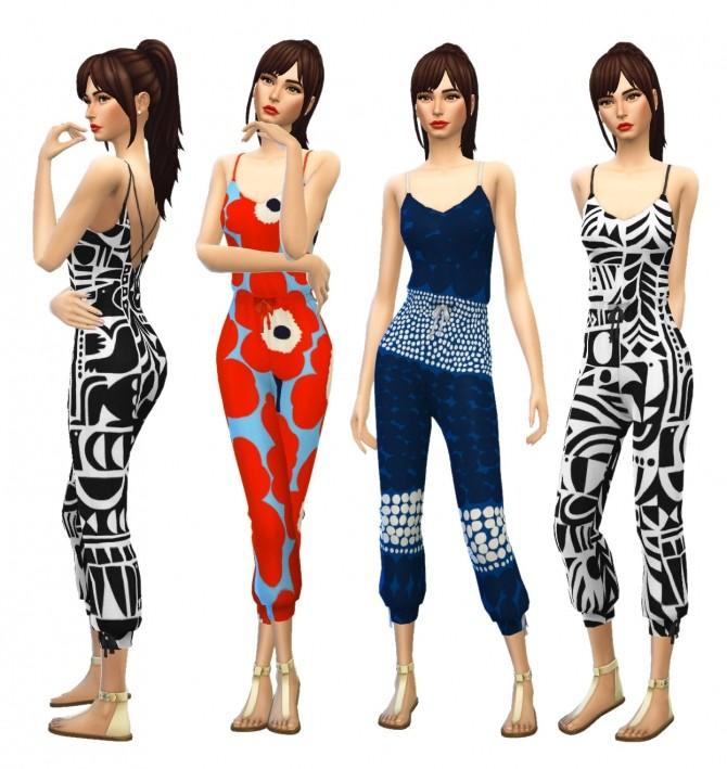 Marimekko Rompers at SimPlistic image 1064 670x709 Sims 4 Updates