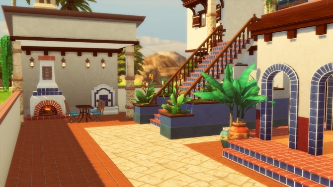 Mediterranean House at Simming With Mary image 1069 670x377 Sims 4 Updates
