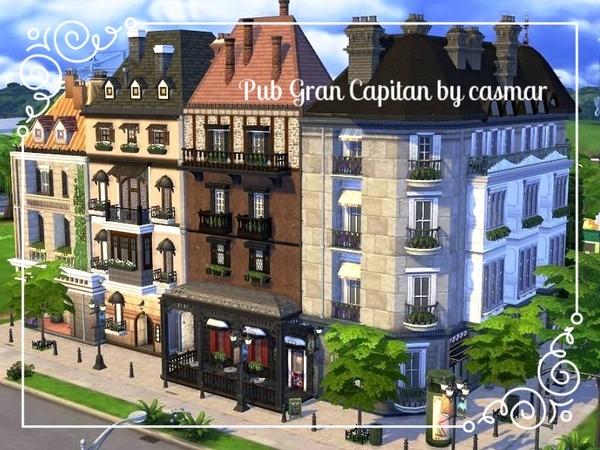 Pub Gran Capitan by casmar at TSR image 10711 Sims 4 Updates
