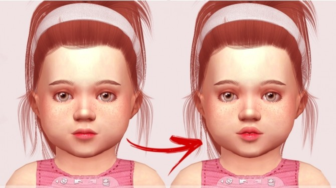 Sims 4 TODDLER SLIDERS + PRESETS HEIGHT by Thiago Mitchell at REDHEADSIMS