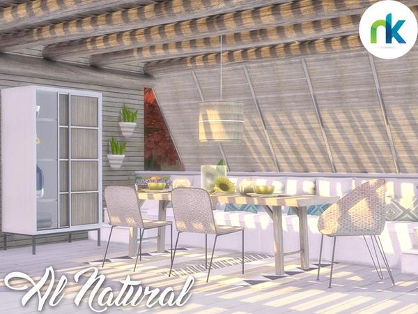 Sims 4 Al Natural Outdoor Dining by Nikadema at TSR