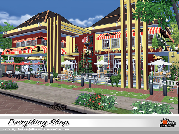 Everything Shop by autaki at TSR image 1090 Sims 4 Updates