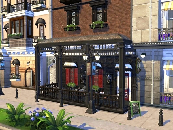 Pub Gran Capitan by casmar at TSR image 11013 Sims 4 Updates
