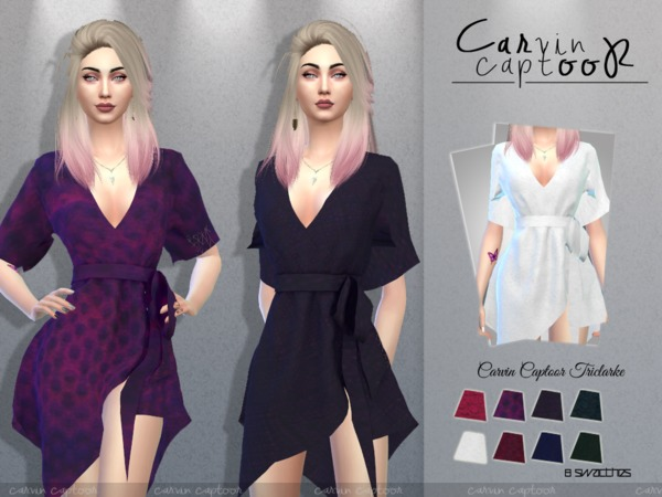 Sims 4 Triclarke by Carvin Captoor at TSR