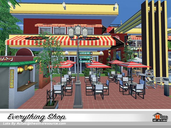 Everything Shop by autaki at TSR image 11100 Sims 4 Updates