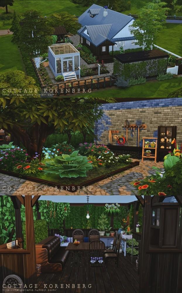 Sims 4 Cottage Korenberg at Helga Tisha