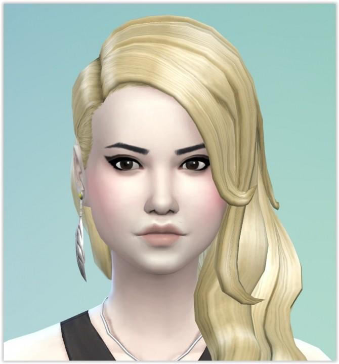 Sims 4 Louisa De Latour (vampire) by Angerouge at Studio Sims Creation