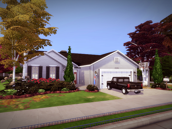 Redmond house NO CC by melcastro91 at TSR image 1149 Sims 4 Updates