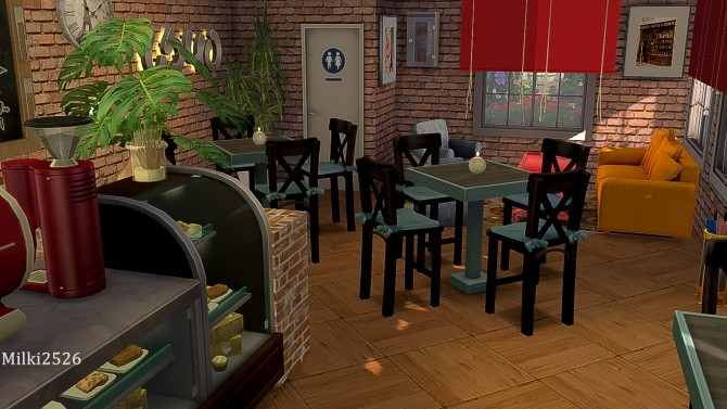 Meeting point lot at Milki2526 image 1163 670x377 Sims 4 Updates