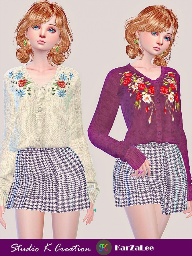 011 emb sweater at Studio K Creation image 11810 670x893 Sims 4 Updates