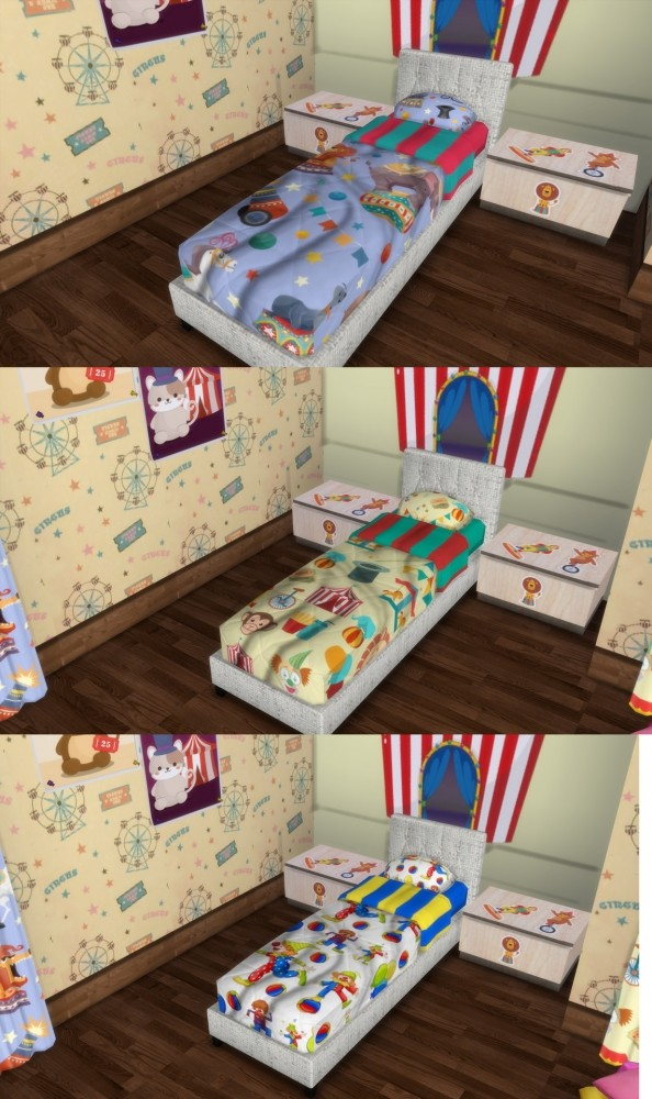 Circus Kids` Room Set at Simming With Mary image 12111 594x1000 Sims 4 Updates