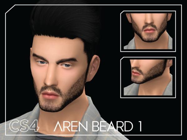 Sims 4 Aren Beard 1 by Choi Sims 4 at TSR