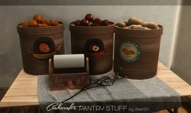 3T4 Cashcrafts Pantry Stuff by daerOn at Blooming Rosy image 1231 670x398 Sims 4 Updates