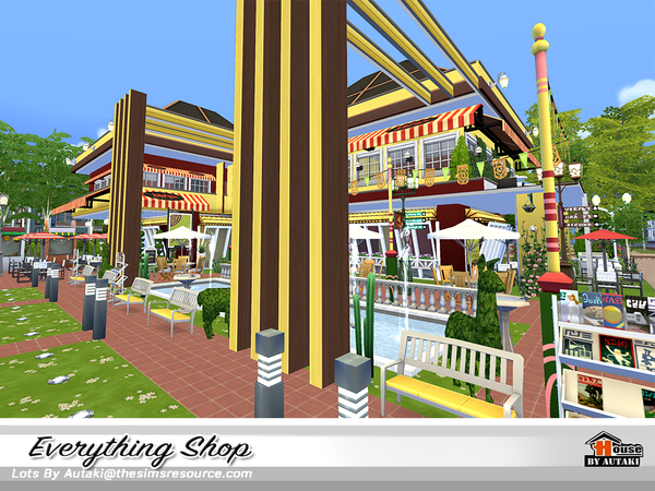 Everything Shop by autaki at TSR image 1250 Sims 4 Updates
