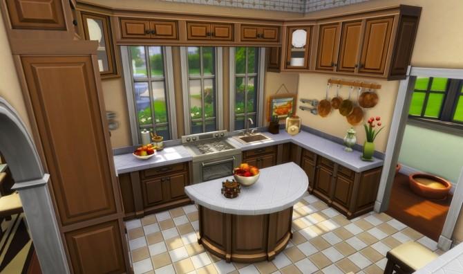 Sims 4 BG cozy family home at BERESIMS