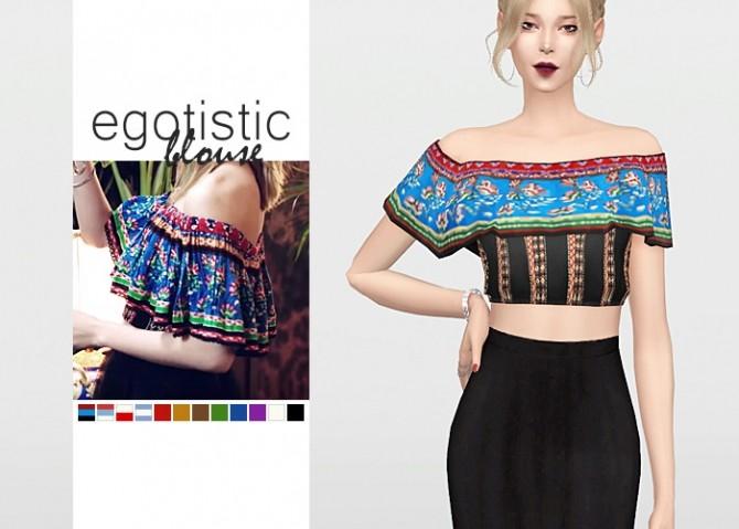 Egotistic Blouse at Waekey image 1272 670x479 Sims 4 Updates