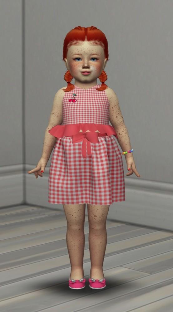 Sims 4 LEAH LILLITH MAVEN HAIR KIDS AND TODDLER VERSION at REDHEADSIMS