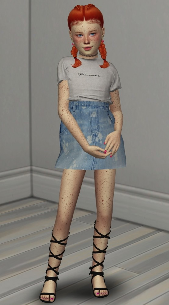 LEAH LILLITH MAVEN HAIR KIDS AND TODDLER VERSION at REDHEADSIMS image 13111 554x1000 Sims 4 Updates
