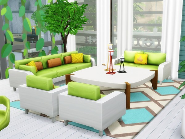 Exclusive Modern Oasis by MychQQQ at TSR image 1312 Sims 4 Updates