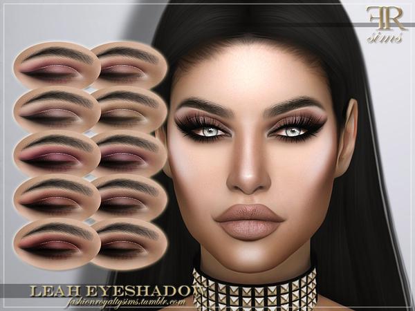 Sims 4 FRS Leah Eyeshadow by FashionRoyaltySims at TSR