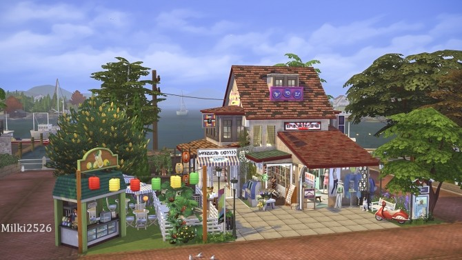 Shop on the dock at Milki2526 image 135 670x377 Sims 4 Updates