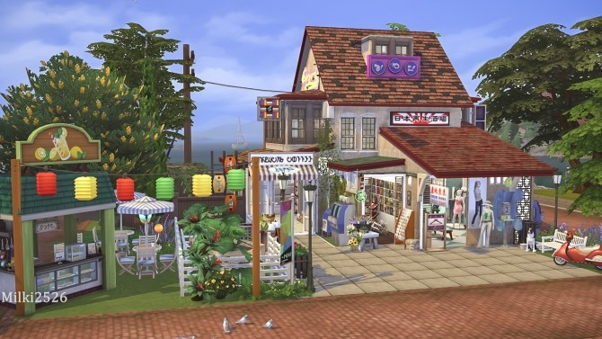 Shop on the dock at Milki2526 image 136 670x377 Sims 4 Updates