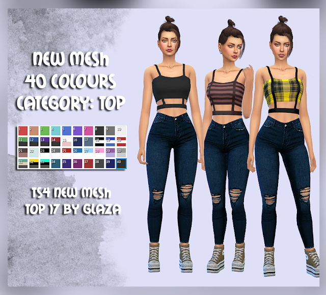 Sims 4 Top 17 at All by Glaza