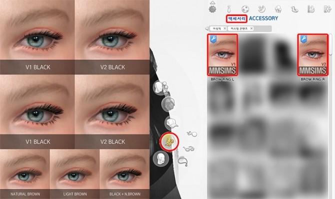 Sims 4 3D Eyelash Set AF at MMSIMS