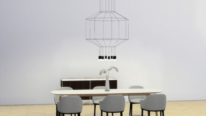 Sims 4 WIREFLOW 300 lamp at Meinkatz Creations