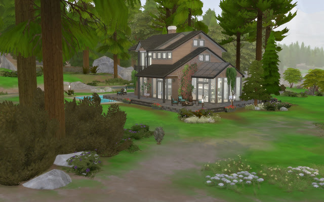 House 58   Cabin at Via Sims image 1445 Sims 4 Updates