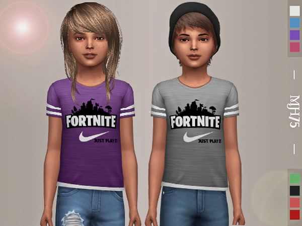Fortnite Tops by Margeh 75 at TSR image 1449 Sims 4 Updates