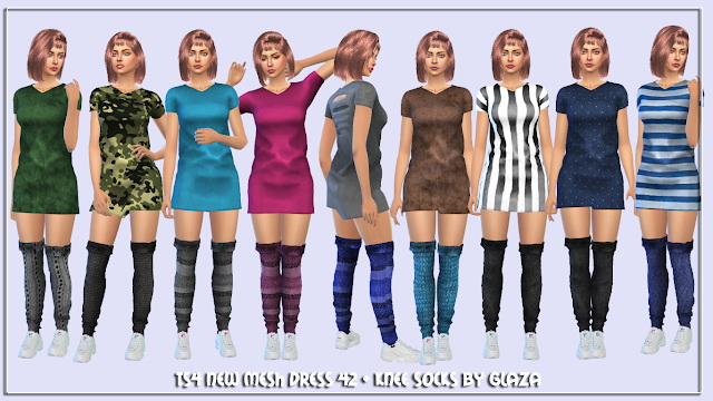 Sims 4 Dress 42 at All by Glaza