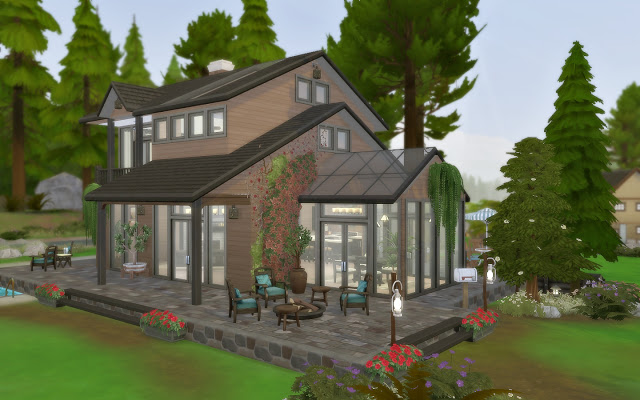 House 58   Cabin at Via Sims image 1455 Sims 4 Updates