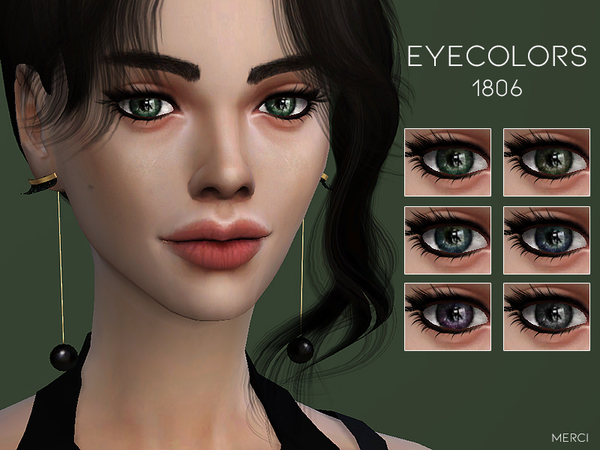 Sims 4 Eyecolors 1806 by Merci at TSR